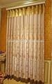 2014 novo luxo floral pura cortinas