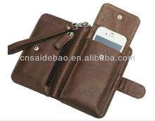 2014 Multifunctional mini man bag bandbag with a clear photo window