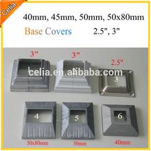Aluminum Post Base Trim