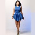 패션 섹시 여성 붕대 여름 드레스, 민소매 내기대로 섹시한 드레스 g0601