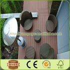 wpc decking floor covering for outdoor