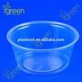 transparente de plástico descartável tigela de salada