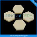 Resistente al desgaste sic/99% de alúmina de cerámica azulejo al2o3/para placas de armadura antibalas/innovacera