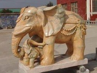 For hotel lion marble candle statue