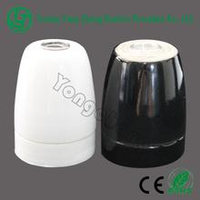 glazed porcelain lamp cap E27 510 screw shell lamp base