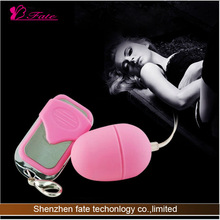 2014 Powerful g-spot massage remote control egg vibrating herbal sexual stimulant