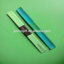 Factory custom cheap silicone slap bracelet for promotion