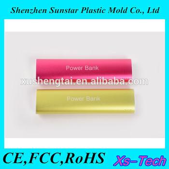 Fashion Aluminum Power Bank 10400mah for mobile phone/Macbook pro/ipad mini