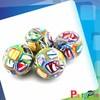 2014 Hot Sall Bouncing Ball Prinred Logo Solid Rubber Balls Bounce Ball