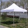 Clear plastic tent with waterproof top cover, 3x3 motorcycle tent cover