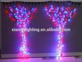 led colorati stringa di rame ha condotto la luce della tenda