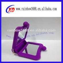 bright color silicone mirror bag