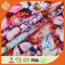 50D soft flower design chiffon/polyester chiffon fabric