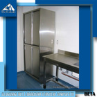 Customized Dimension Laboratory Use Stainless Steel Wardrobe Cabinet