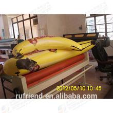 Promotional inflatable banana banana inflatable model toys, PVC air bananas ad