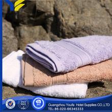 bleached manufacter 100% cotton kids bath towel hooks