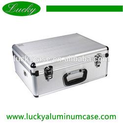Silver Video Aluminium Case - 46x34x19cm