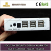 Charging and Alarming Manufacturing acrylic mobile phone security stand