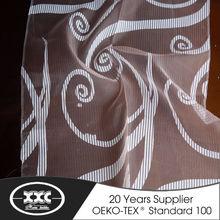 High quality popular decorative organza curtain