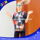 new fashioncustom t-shirt printing short sleeve girls t shirt