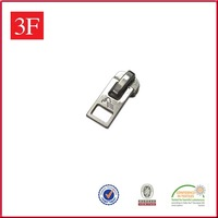Key Locking Metal Zipper Sliders