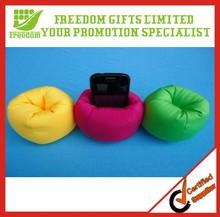 Promotion Custom Logo Printed Bean Bag Cell Phone Holders