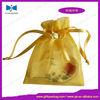 High quality top sell mini cute wine bottle organza bag
