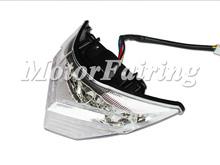 motorcycle tail light for Kawasaki EX300 2013-2014 led tail light motorcycle rear light white color