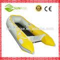 pvc pequeño plegableinflable barco