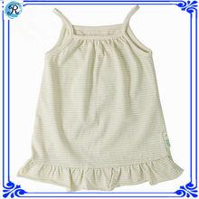 2014 new design fashion cotton new born baby dress