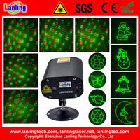Xmas DJ Disco Home Party 12V mini laser light