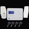 Smart Home Family Home Security Alarm System host, Touch screen keypad GSM alarm system.