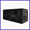 2014 high quality hifi 12 inch RMS 400W car subwoofer box