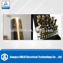 25 PCS HSS Cobalt Jobber Drill Bits,135 Split Point
