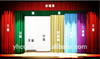 fashionable curtain blinds electric stage curtain
