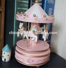 handmade carousel music box wholesale