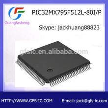 Microcontrollers IC PIC32MX795F512L-80I/P
