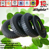 """BIGBIZ lug pattern rubber wheel 2.50-4, 250-4 8"""" pneumatic tire, tyre and tube 8 inch rubber wheel"""
