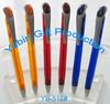 Best sale new promotional custom design elegant color glass ball pen