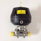 stainless steel sanitary pneumatic diaphragm control valve
