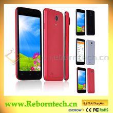 Original brand cell phone 4.5 inch MTK6572 dual Core phones