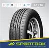 High performance environmental semi steel radial passenger car tire