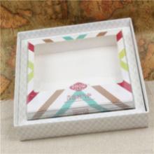 Good value for the money luxury round paper tie box square tie box tie clip box