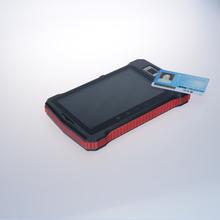 industrial handheld rugged fingerprint sensor barcode scanner and RFID tablet pc