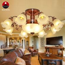 Bright chandelier European style/ moroccan style brass chandelier light