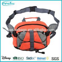 Custom Waterproof Nylon Cycling Side Sport Waist Bag for men