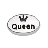 fashion accessory zinc alloy queen floating charms lockets wholesale