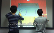 Laser infrared interactive whiteboard finger touch smart board digital classroom for school distributor