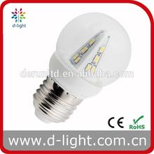 B22 270 degree LED bulb G45 2W mini globe E14 ROHS
