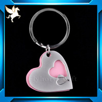promotional high quality fashion cheap custom soft pvc key chain